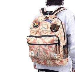 new outdoor tan camo mens backpack school
