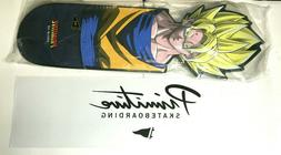 New Primitive Dragon Ball Z Goku CNC Cruiser Skateboard Deck