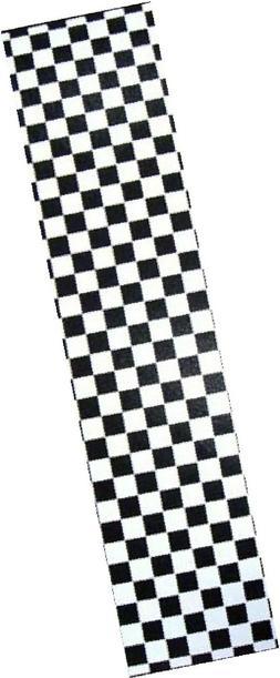 new pro skateboard grip tape ckecker black