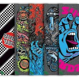 New Mob Santa Cruz Spring 17 Assorted Skateboard Griptape 9i