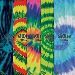 New Mob Tie Dye Assorted-Color Skateboard Griptape - 9in x 3