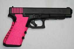 PINK Grip tape FITS 19  , 23 , 25 , 32 , 38,HAND GUN, PISTOL