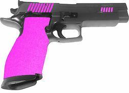 PINK  GRIP TAPE, HANDGUN GUN, PISTOL, non slip, TARGET SHOOT