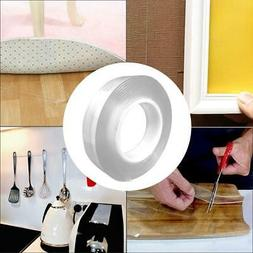 Portable 2Two sided Adhesive Nano Tape Washable Removable Ta