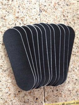Steep Hill Fingerboard Pre-cut Black Foam Grip Tape, 12 piec