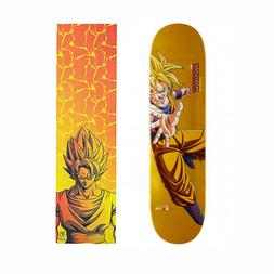 "Primitive Dragon Ball Z Goku 8.0"" Skateboard Deck & Grip Tap"