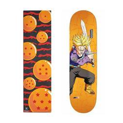 "Primitive Dragon Ball Z Trunks 8.125"" Skateboard Deck with D"
