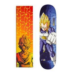 "Primitive Dragon Ball Z Vegeta 7.875"" Skateboard Deck with G"