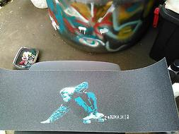"PRO JESSUP GRIP TAPE  9""x33""full sheet LEGEND JAY Stencil BE"