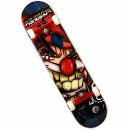 Punisher Skateboards Jester 31 Double Kick Tail Concave Deck