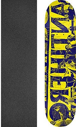 Anti Hero Skateboards Quarter Yellow Skateboard Deck - 8.5""