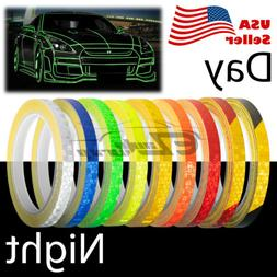 Reflective Tape Safety Self Adhesive Striping Sticker Decal