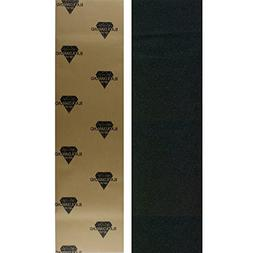 Black Diamond Longboard Skateboard Grip Tape Sheet Black 48""