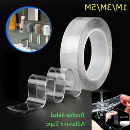 Reusable Nano Magic Tape 2mm Double-sided Grip Traceless Was