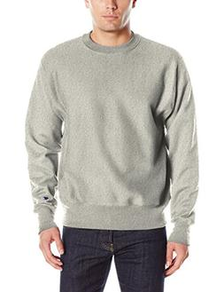 Champion LIFE Men's Reverse Weave Sweatshirt, Oxford Gray, 3