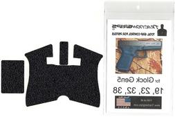 Tractiongrips rubber grip tape for Glock 19 Gen5 with half-m