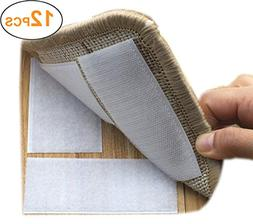 Yorwe Rug Anchors Carpet Hook and Loop Non-Slip Mat Anti-Ski