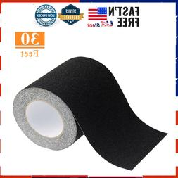 """Safety Anti Slip Tape Rubberized 6"""" X 30' Roll Non Skid Boat"""
