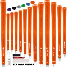 SAPLZIE Golf Grips 13 Grips Midsize with 15 Free Tapes Rubbe
