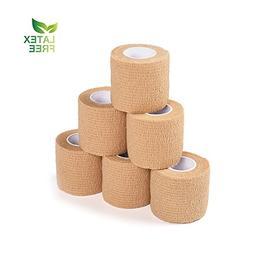 Self-Adhesive Bandage - Stretch Sports Wrap, Elastic Cohesiv