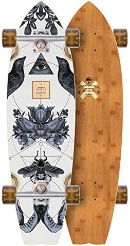 sizzler bamboo 2017 complete longboard