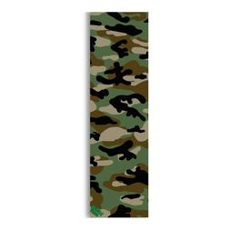 Mob Skateboard 9in x 33in Green Camo Sheet Mob Skateboard G
