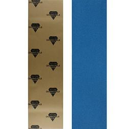 "Black Diamond Skateboard 9"" x 33"" Blue Grip Tape"