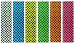 "Skateboard Checker Grip Tape 9"" x 33"" Multiple Colors option"