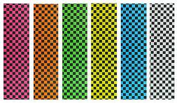 "Skateboard Checker Grip Tape 9"" x 33"" Multiple Colors to Cho"