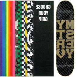 MYSTERY Skateboard Deck COLLEGIATE GOLD 7.625 with GRIPTAPE