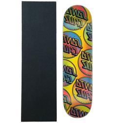 """Santa Cruz Skateboard Deck Contra Allover 8.25"""" x 31.8"""" with"""