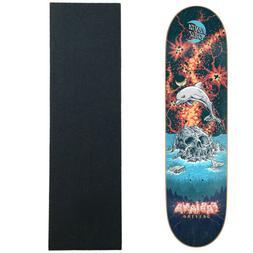 "Santa Cruz Skateboard Deck Delfino Island 8.25"" with Griptap"