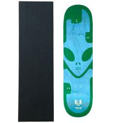 skateboard deck exp green 8 5