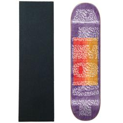"""Almost Skateboard Deck Fat Font Pro Song 8.125"""" with Griptap"""