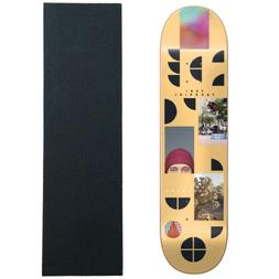 """Almost Skateboard Deck Fragments Facchini 8.125"""" with Gripta"""