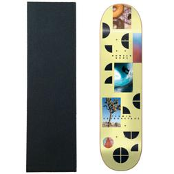"""Almost Skateboard Deck Fragments Song 8.25"""" with Griptape"""