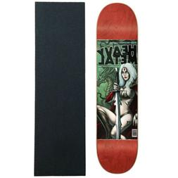 "Darkstar Skateboard Deck Heavy Metal Decenzo 8.375"" with Gri"