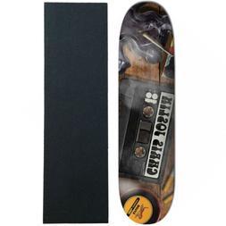 "Plan B Skateboard Deck Joslin Mixtape 8.375"" With Griptape"