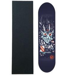 FOUNDATION Skateboard Deck MERLINO WOOD WRAITH 8.0 with GRIP