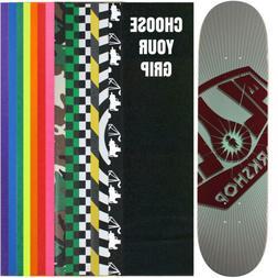 """ALIEN WORKSHOP Skateboard Deck OG BURST LARGE 8.25""""  With Gr"""