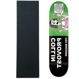"""Toy Machine Skateboard Deck Provost Tracts 8.0"""" with MOB Gri"""
