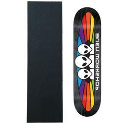 "ALIEN WORKSHOP Skateboard Deck SPECTRUM LG 8.25""  with GRIPT"
