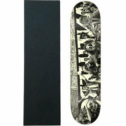 "Anti Hero Skateboard Deck They Panic Black 8.5"" with Griptap"