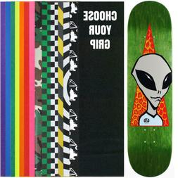 "ALIEN WORKSHOP Skateboard Deck VISITOR 8.25""  With Griptape"