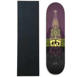 "Alien Workshop Skateboard Deck Yaje Popson Shelter 7.875"" wi"