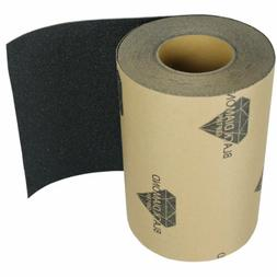 Skateboard BLACK GRIP TAPE ROLL 60' Skateboards 9 in