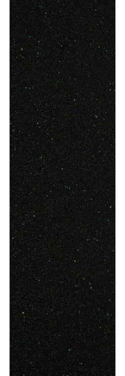 "Mob Skateboard Grip Tape Sheet Green Glitter 9"" x 33"""
