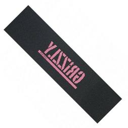 GRIZZLY Skateboard Grip Tape Sheet - Pink Stamp