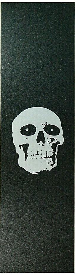 """Skateboard Grip tape Skull Head 9"""" x 33"""" Griptape"""