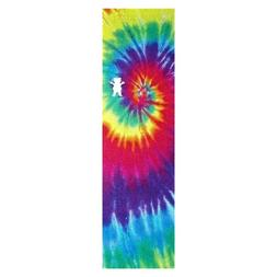 Grizzly Skateboard Grip Tape Tie Dye Bear Cut out